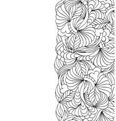 abstract hand drawn pattern vector image