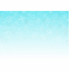 abstract of blue sky christmas background with vector image