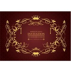 al 0809 invitation 03 vector image