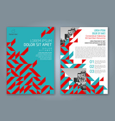 Cover annual report 830 vector