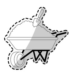 gardening tools icon image vector image