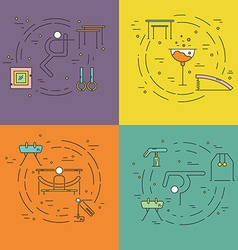 Gymnastics Concept vector image