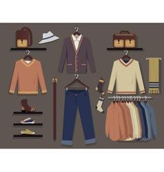 Men fashion vector