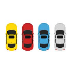 parking color up vector image