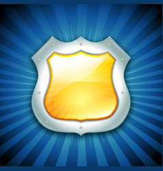 security protection shield icon vector image