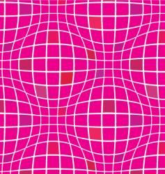 Warp squares fuchsia vector