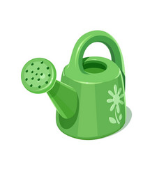 watering can garden vector image