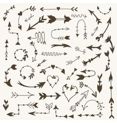 Tribal Arrow Signs vector image