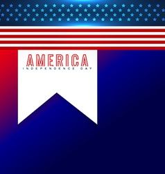 american independence day background vector image