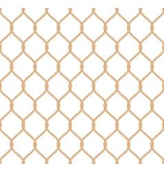 Rope marine net pattern vector image vector image