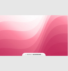 abstract wavy background with curves lines vector image