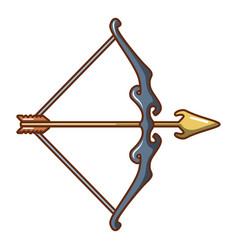 Archery ammunition icon cartoon style vector
