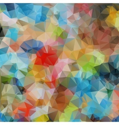 bright background of geometric patterns vector image