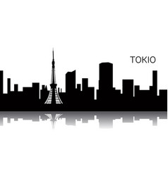 Cityscape tokyo vector
