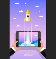 concept of start up vector image