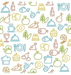 Cooking Concept Outline vector image