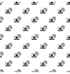 Distribution of files over internet pattern vector