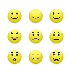 Emotions icon vector image