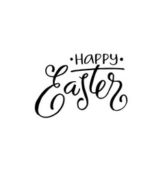 happy easter phrases vector image
