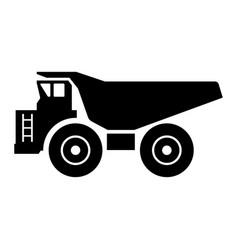 Haul truck vector