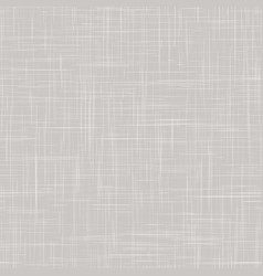 Linen texture background natural white gray vector
