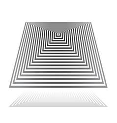 Pyramidal shape vector