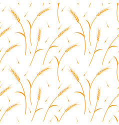 whole grain natural organic background for vector image