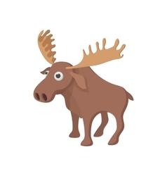 Deer icon cartoon style vector image vector image