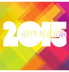 2015 colorful design vector image
