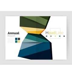 Business annual report abstract backgrounds vector