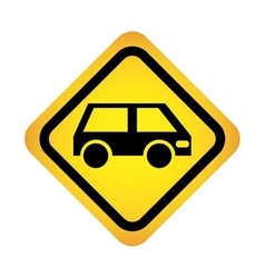 car isolated icon design vector image