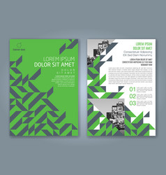 Cover annual report 836 vector