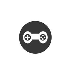 Joystick game controller icon design template vector