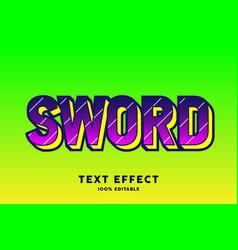 pink dark on green pop art text style effect vector image