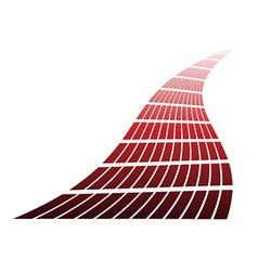 Red design element vector