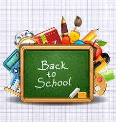 school -2 vector image