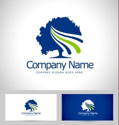 Tree Logo Design Creative vector image