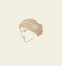 venus logo vector image