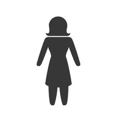 Woman icon Pictogram design graphic vector image