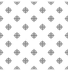 Target crosshair pattern simple style vector image