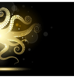 Abstract Tentacles vector