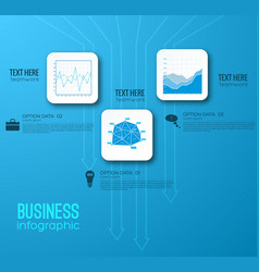 Business abstract infographics vector