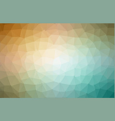 colorful polygonal which consist of triangles vector image