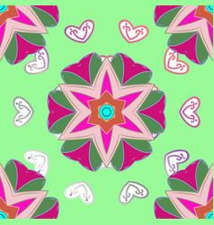 Motif revival swirling ethnic texture orient vector