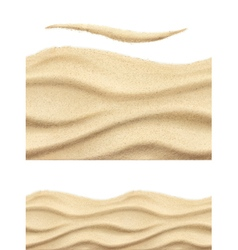 Sea sand seamless pattern vector image