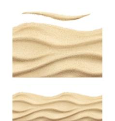 sea sand seamless pattern vector image