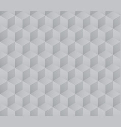 seamless grayscale cube pattern with gradient vector image