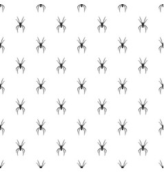 spider pattern seamless vector image