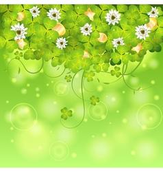 St Patrick Day Frame vector image