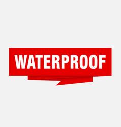 Waterproof vector